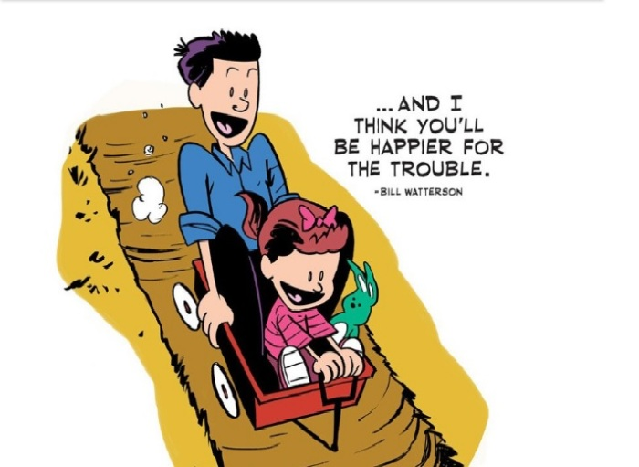 Calvin & Hobbes creator Bill Watterson was Uncity. His advice.