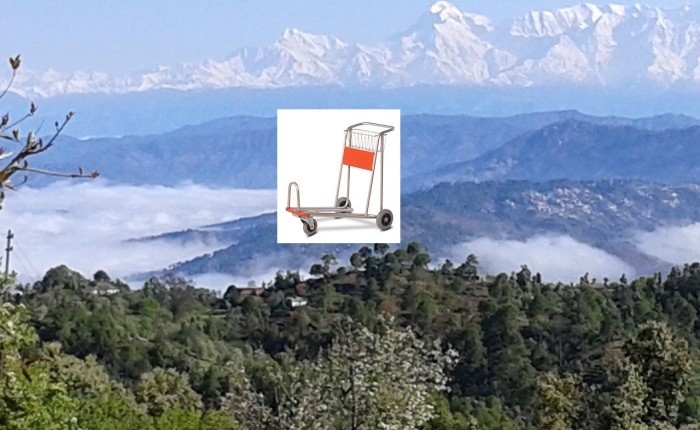 The Kumaoni Luggage Cart