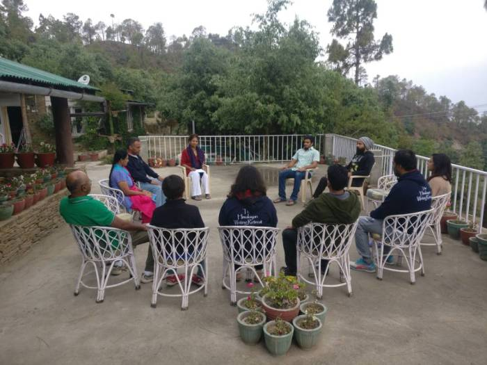 About the blogging retreat – this is not anadvertisement.