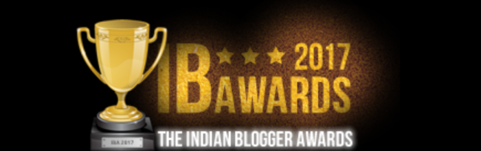 The Indiblogger award for Humour